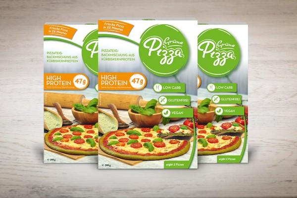 Grünes Trio (3x Grüne Pizza)